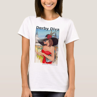 Kentucky Derby Diva - Baby Doll Tshirt