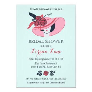 Kentucky Derby Inspired Bridal Shower Invitation