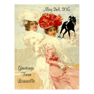 Kentucky Derby Postcards Horse Racing Fashionable