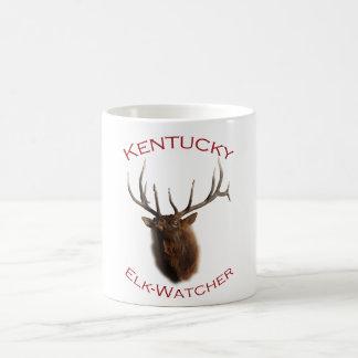 Kentucky Elk-Watcher Basic White Mug