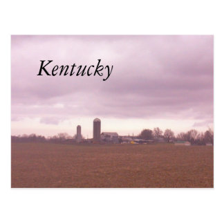 KENTUCKY FARM POSTCARD