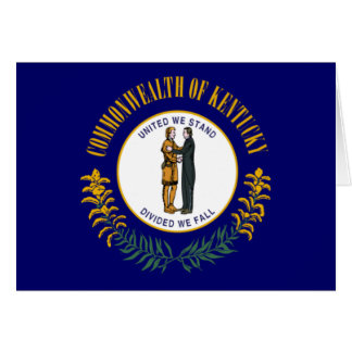 Kentucky Flag Card