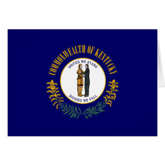 Kentucky Flag Stationery Note Card