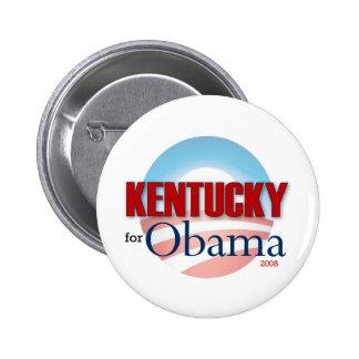 Kentucky for Obama 6 Cm Round Badge