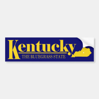 Kentucky Gold Bumper Sticker