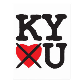 Kentucky Hates You Post Cards