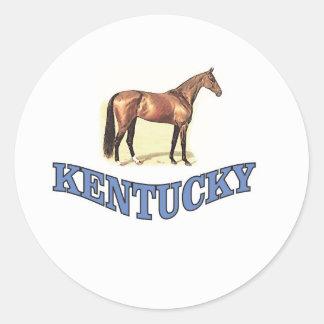 Kentucky horse classic round sticker