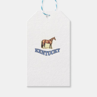 Kentucky horse gift tags