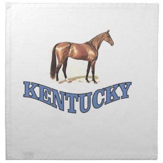 Kentucky horse napkin