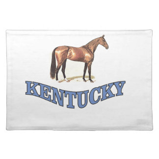 Kentucky horse placemat