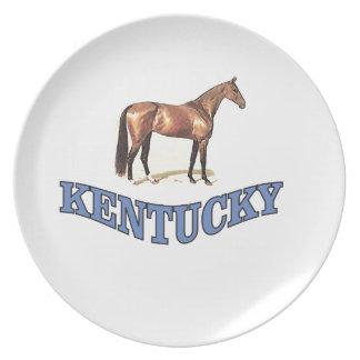 Kentucky horse plate