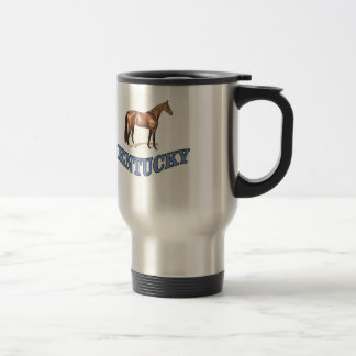 Kentucky horse travel mug