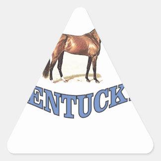 Kentucky horse triangle sticker