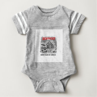 Kentucky Lincolns birthplace Baby Bodysuit