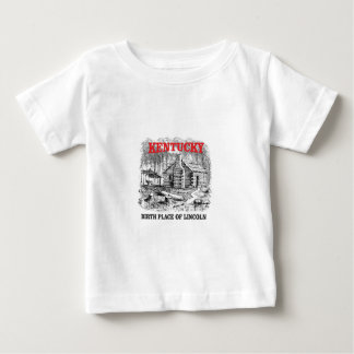 Kentucky Lincolns birthplace Baby T-Shirt