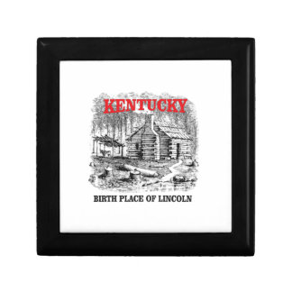 Kentucky Lincolns birthplace Gift Box
