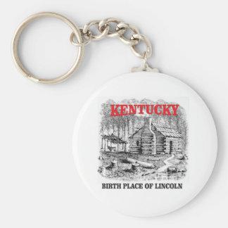Kentucky Lincolns birthplace Key Ring