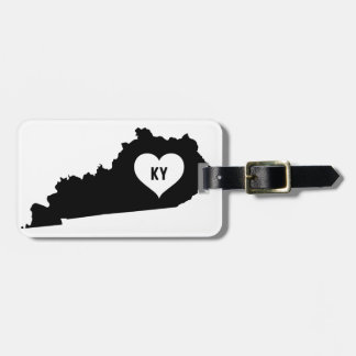 Kentucky Love Luggage Tag