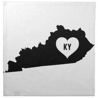 Kentucky Love Napkin