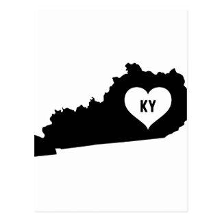 Kentucky Love Postcard