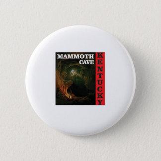 Kentucky mammoth cave 6 cm round badge