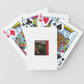 Kentucky mammoth cave bicycle playing cards