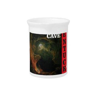 Kentucky mammoth cave pitcher