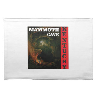 Kentucky mammoth cave placemat