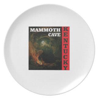 Kentucky mammoth cave plate