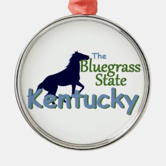 KENTUCKY METAL ORNAMENT