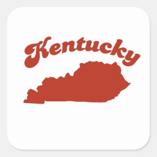 KENTUCKY Red State Sticker