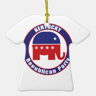 Kentucky Republican Party Christmas Ornament