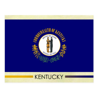 Kentucky State Flag Postcard