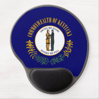 kentucky state flag united america republic symbol gel mouse pad