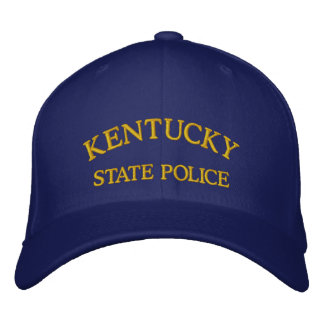 KENTUCKY, STATE POLICE EMBROIDERED CAP