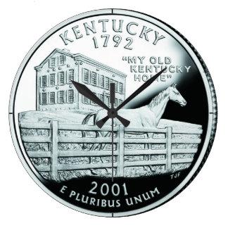 Kentucky State Quarter Clock