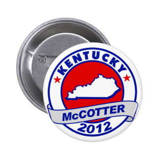 Kentucky Thad McCotter Pinback Buttons
