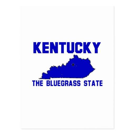 Kentucky, The Bluegrass State Post Card