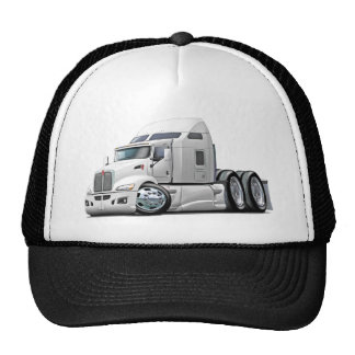 Kenworth 660 White Truck Hats