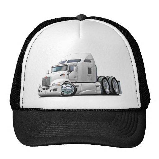 Kenworth 660 White Truck Hats