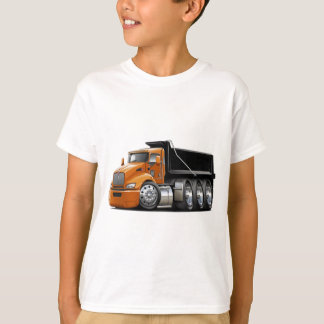 Kenworth T440 Orange-Black Truck T-Shirt