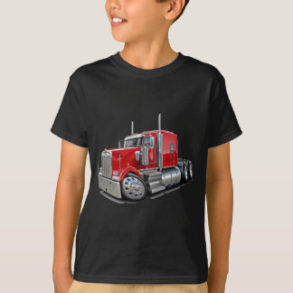 Kenworth w900 Red Truck T-Shirt