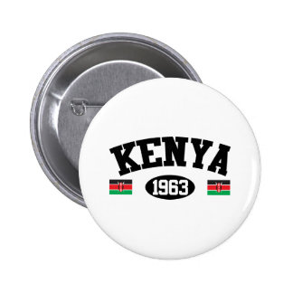 Kenya 1963 6 cm round badge
