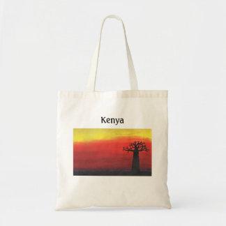 Kenya Baobab Tree Tote Bag