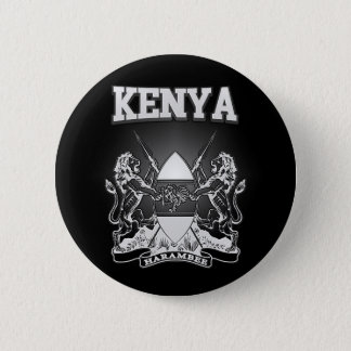 Kenya Coat of Arms 6 Cm Round Badge