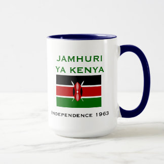 KENYA* Coat of Arms and Flag Mug