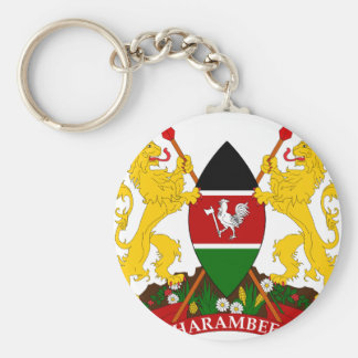 Kenya Coat Of Arms Key Ring