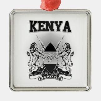 Kenya Coat of Arms Metal Ornament
