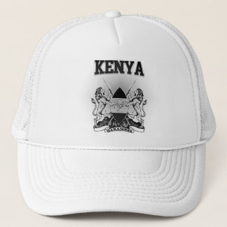 Kenya Coat of Arms Trucker Hat