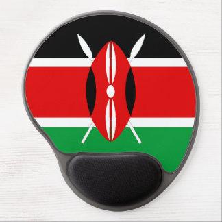 Kenya country long flag nation symbol republic gel mouse pad